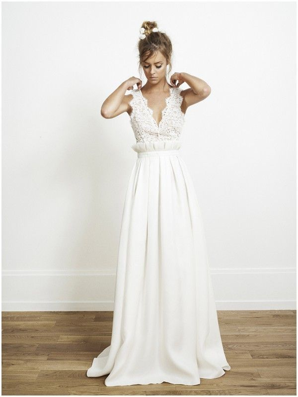 Introducing Rime Arodaky Wedding Dresses | Parisian wedding, Rime ...