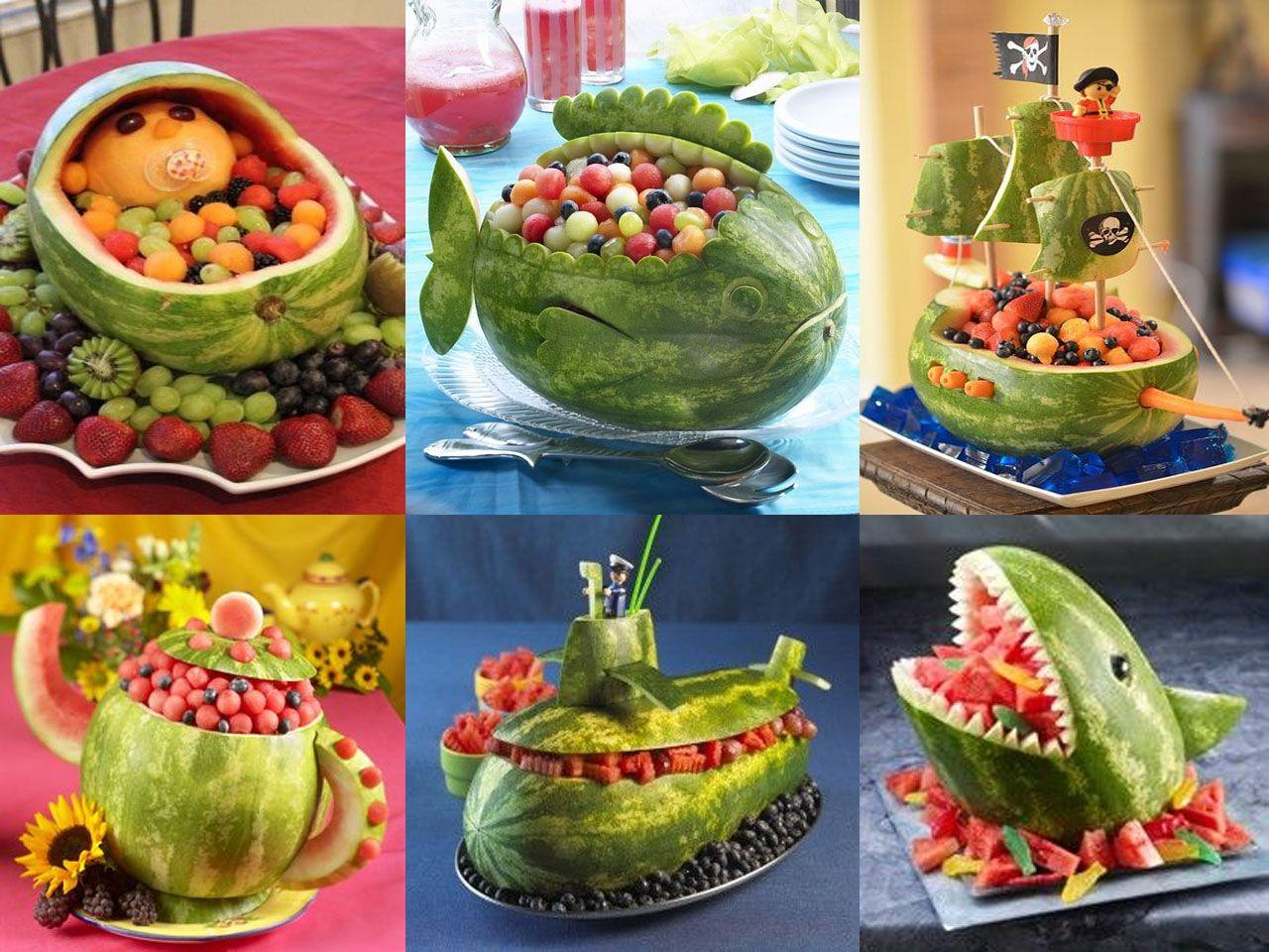 Decoracion Con Frutas Frutas Decoradas Tallado De Frutas Y
