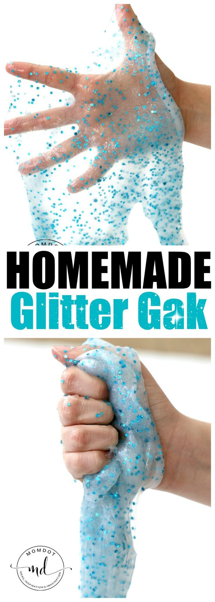 Homemade glitter gake recipe without borax slime pinterest homemade glitter gak recipe looking for an awesome glitter gak recipe look no more ccuart Image collections