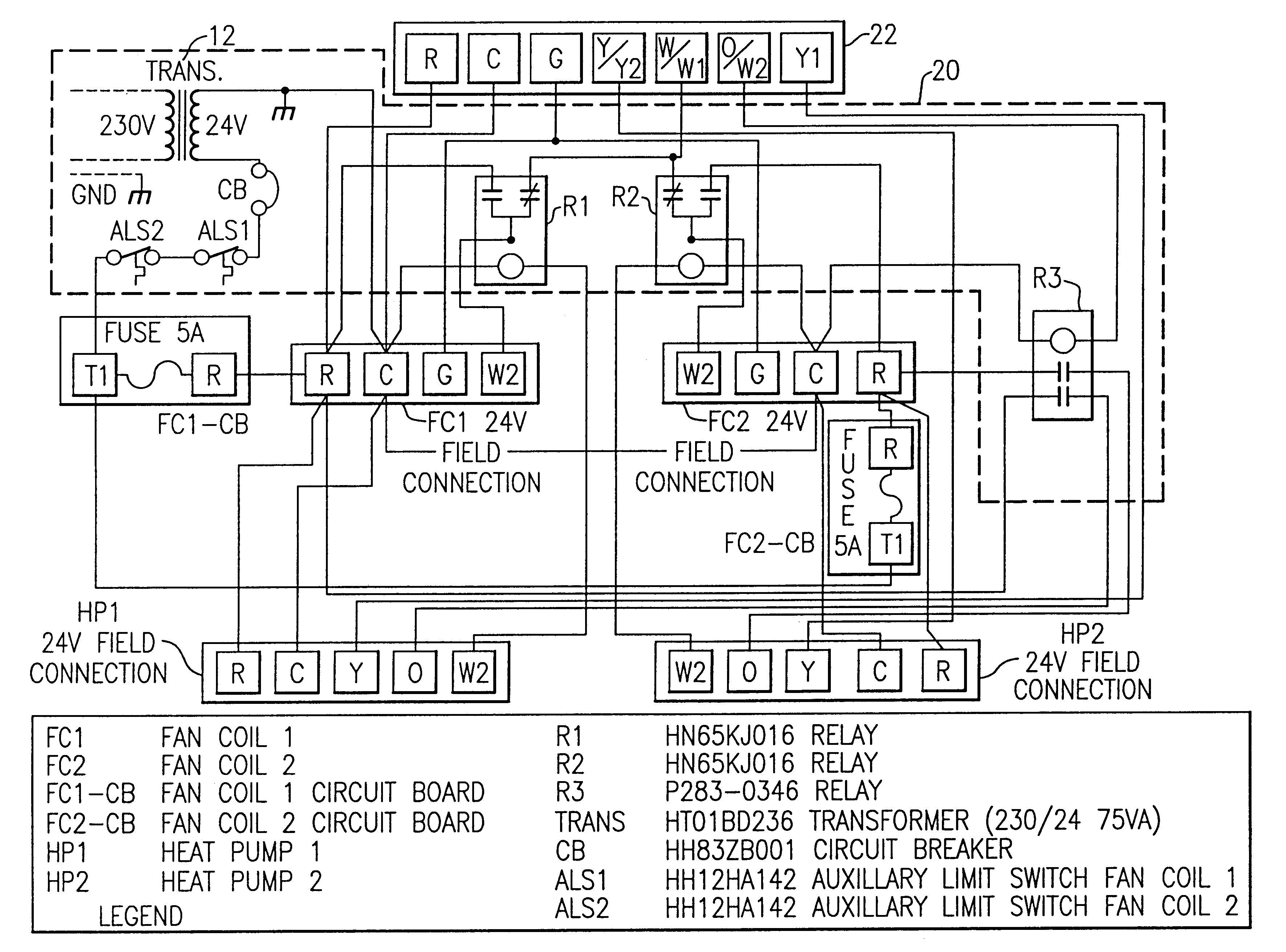 Unique Fan Relay Wiring Diagram Hvac Diagram