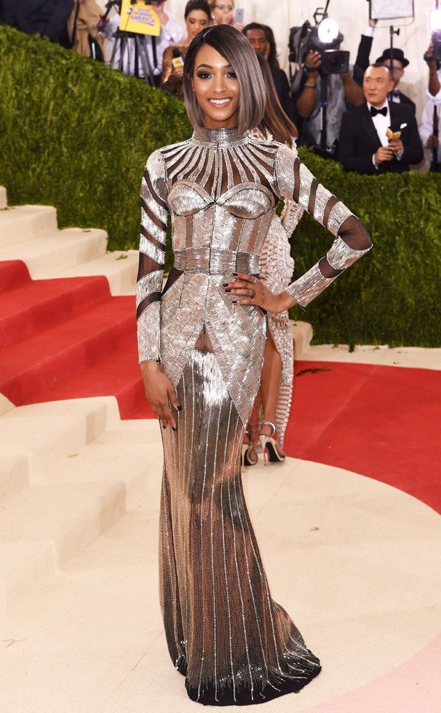 Jourdan Dunn from Met Gala 2016  Best Dressed Stars The supermodel led the  pack in a beaded suit of armor 894aabf7122