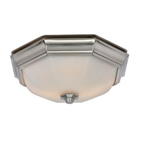 Harbor Breeze 2 Sone 80 Cfm Nickel Bathroom Fan With Light
