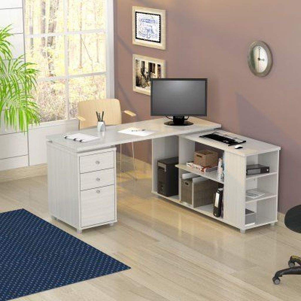 44 The Best Computer Workstation Desk Ideas That Scale Up Your Productivity