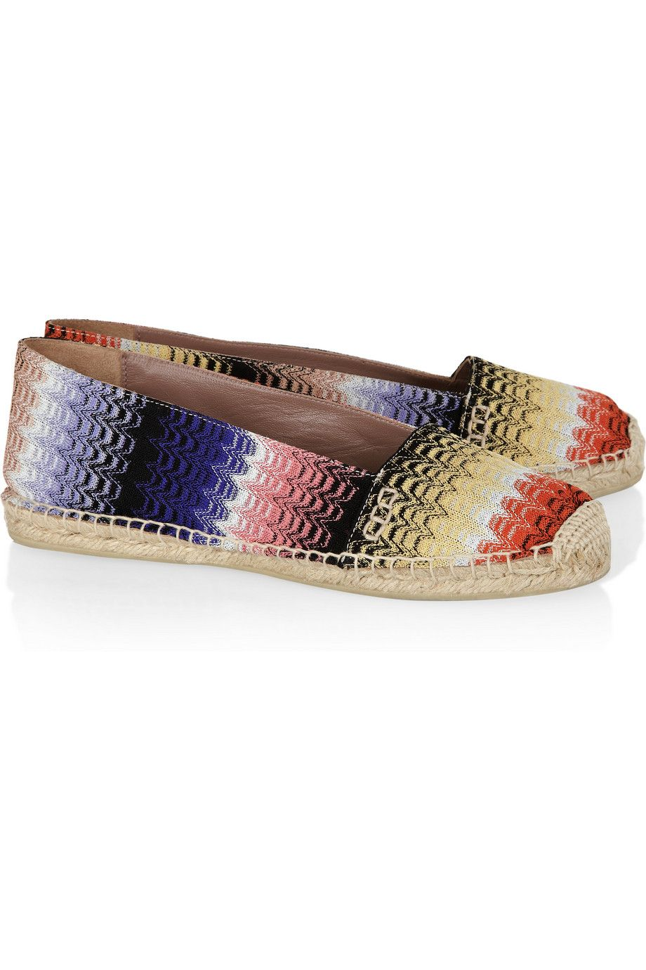 Missoni Woven Espadrilles Flats cheap 2014 sale fashion Style 2014 unisex cheap online discount price mhYanm0
