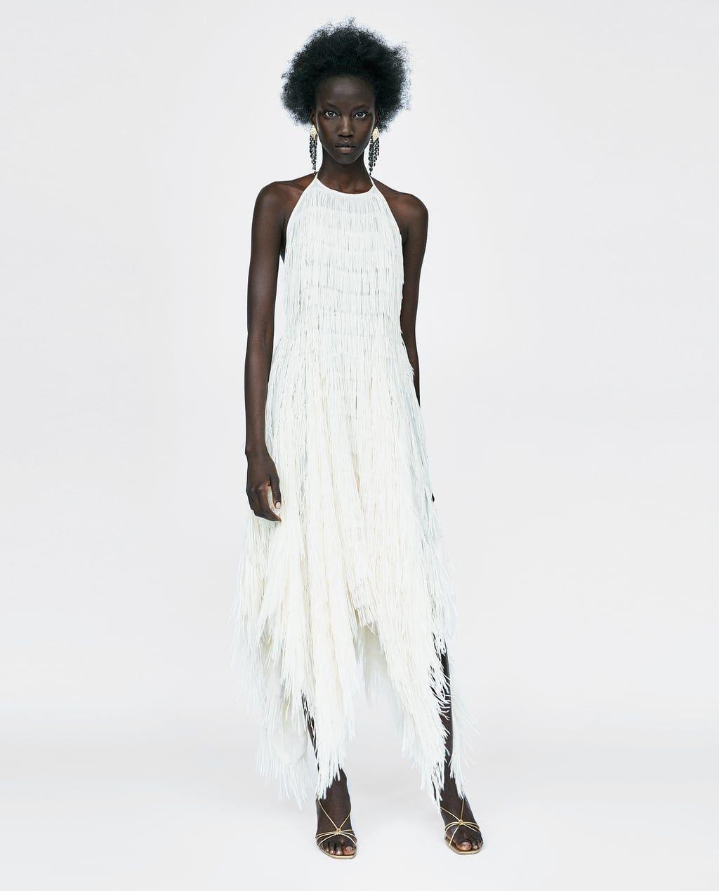 6ea89fdd VESTIDO HALTER FLECOS | Style ღஐƸ̵̡Ӝ̵̨̄Ʒஐღ¸ | Dresses, Zara ...