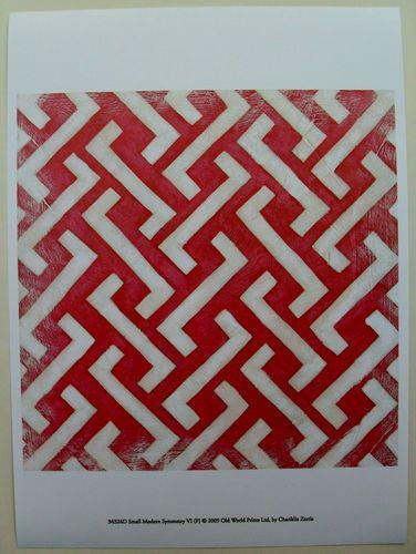 17 50 Patterns Abstract Art Print Small Modern Symmetry Vi By Chariklia Zarris Ebay Pattern Red Art Print Art Deco Posters Art Prints