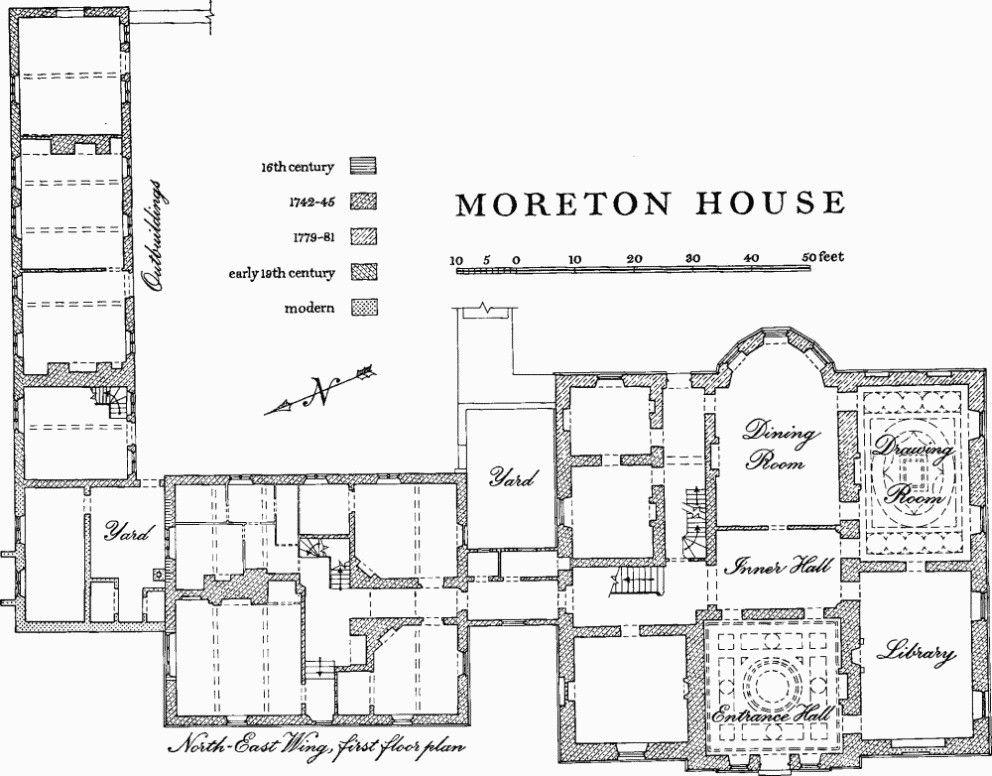 224 Moreton House, Ground Floor Plan   British History Online