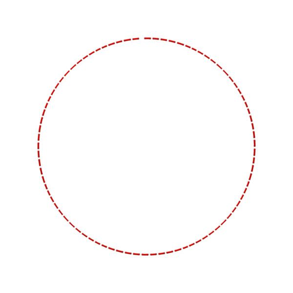 Jss Bigtop Stitched Circle Red Png Liked On Polyvore Featuring Circle Frames Bubble Round Borders Circular And Picture Frame Circle Stitch Bubbles
