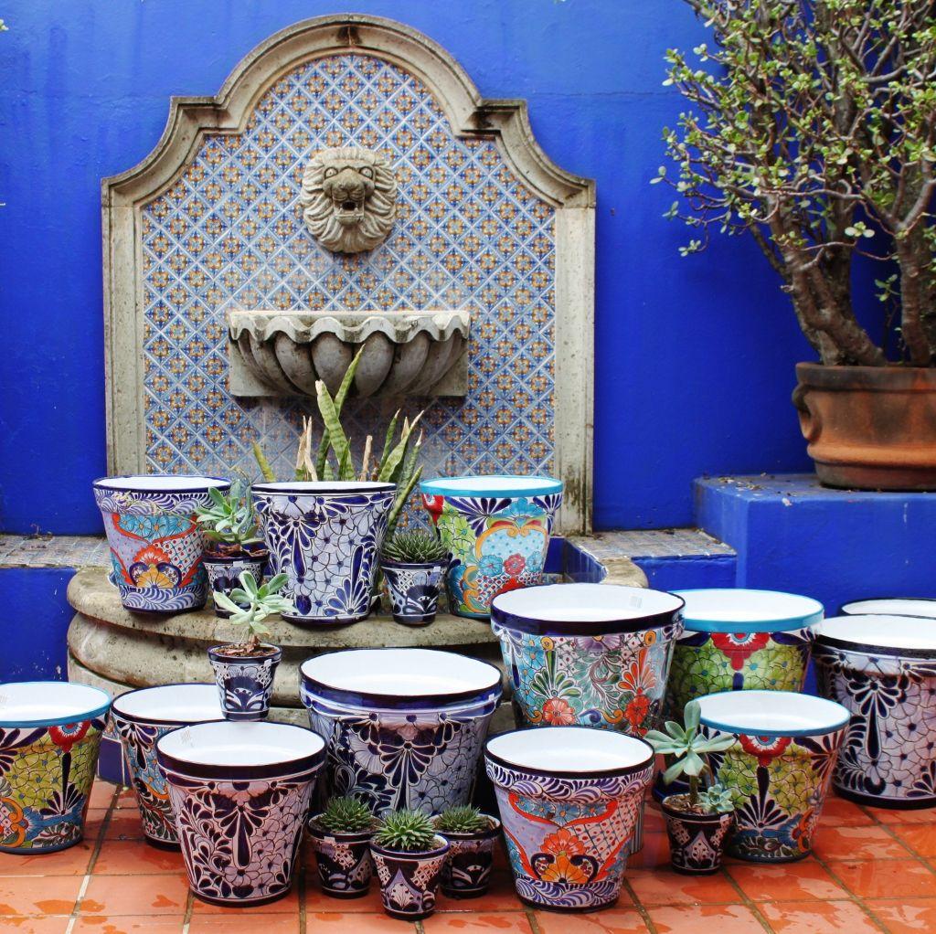 Clay flower pots ceramic flower pots mosaic decor