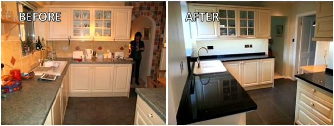 Kitchen Makeovers On A Budget Before And After Custom Before And After A Knutsford Kitchen Makeover Incorporating New Inspiration Design