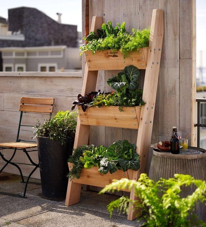 ▷ 1001 + conseils et idées pour faire le potager balcon parfait