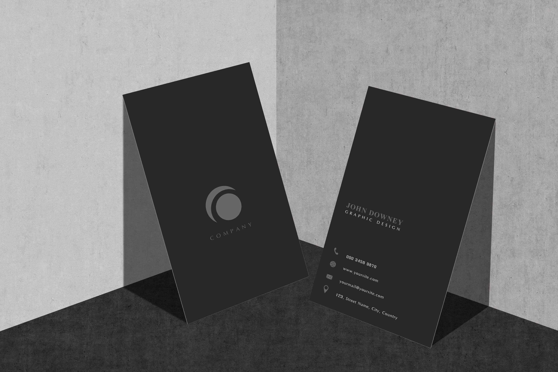 Free Modern Vertical Business Card Psd Mockups Pixelify Best Free Fonts Mockups Templates Vertical Business Cards Business Card Mock Up Business Card Psd