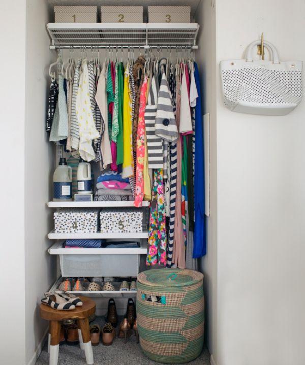 15 Creative U0026 Cozy Dorm Room Ideas. Organized Small ClosetsSmall Closet  OrganizationOrganization ...