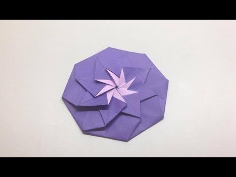 How to origami flower flower youtube paper pinterest how to origami flower flower youtube mightylinksfo