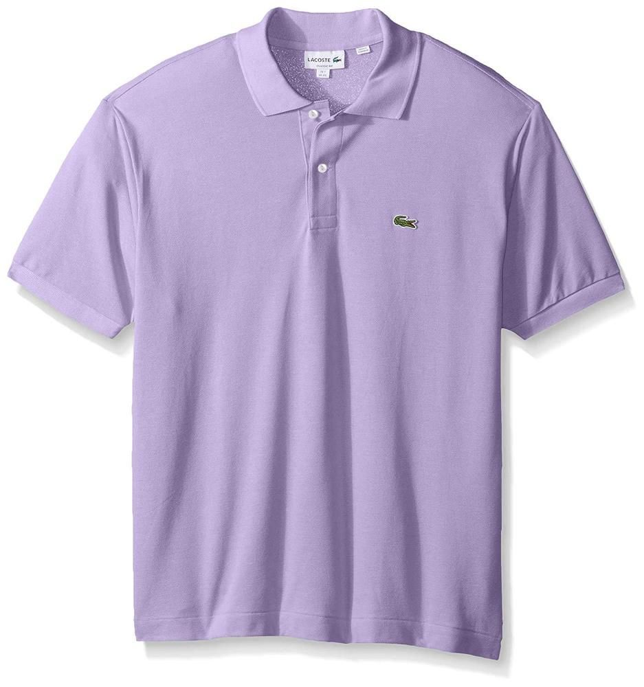 6465851c Lacoste men's Polo Shirt short sleeve light purple #Lacoste #polo ...