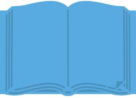 Creatables Dies - Open Book Die