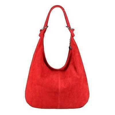 ITAL LADIES LEATHER BAG Schultertasche Hobo Bag Bucket Bag Wildleder Tote   Neue Mode für Frauen und Herren Taschen Schultertaschen Shopper