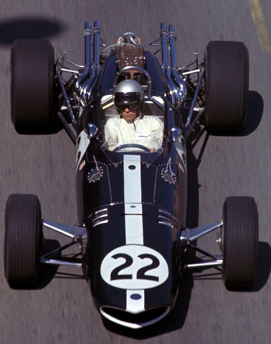 Richie Ginther/Eagle V12/Monaco/1967