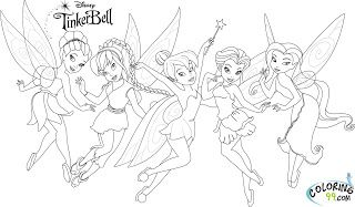 Tinkerbell And Friends Coloring Pages Coloring99 Com Tinkerbell And Friends Tinkerbell Coloring Pages Free Disney Coloring Pages