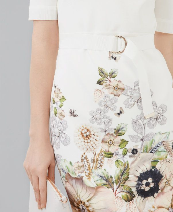 5143594a43ee923ef47b495f94bf718d - Ted Baker Layli Gem Gardens Dress