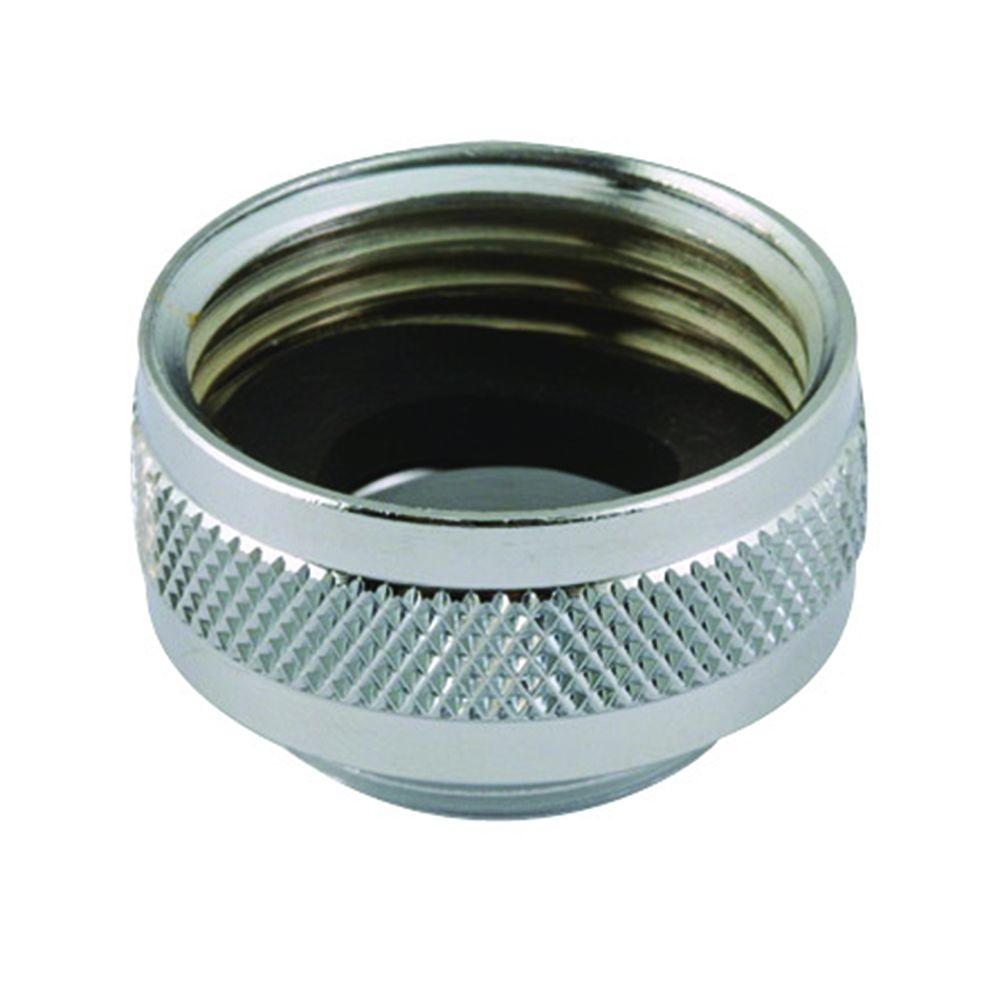 Neoperl 3 4 In Female Hose X 55 64 In Male Chrome Plated Brass