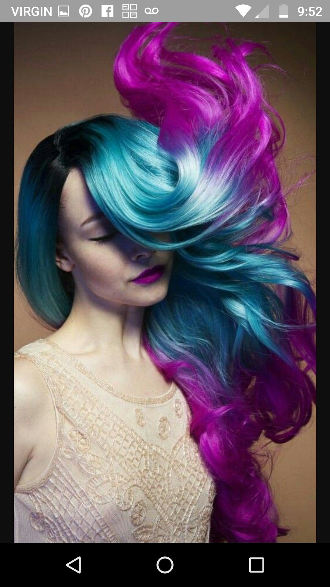 Pin By Sarah On Hair Multi Color Braids Pinterest