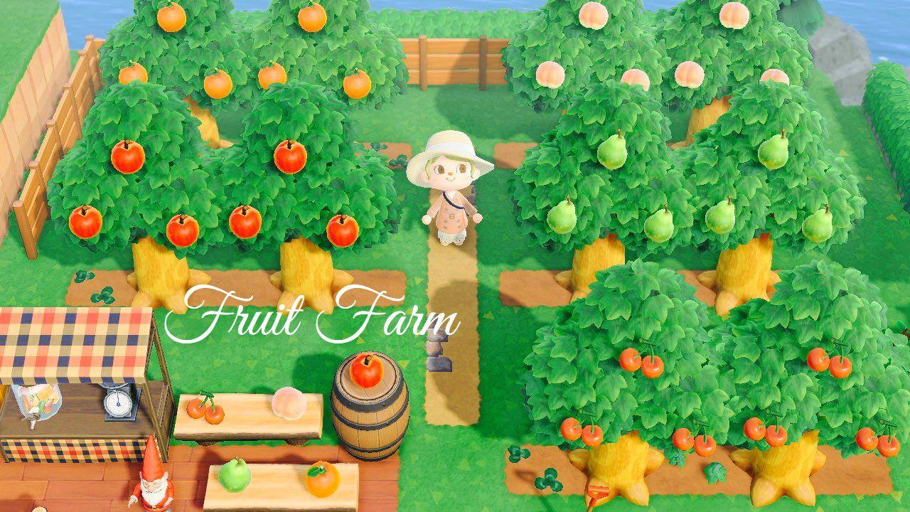 果樹園 あつ森 【あつ森】果樹園の作り方