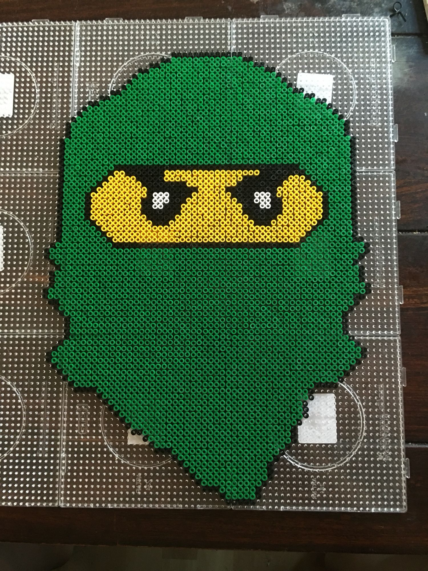 lego ninjago hama perler beads by dorte marker pattern. Black Bedroom Furniture Sets. Home Design Ideas