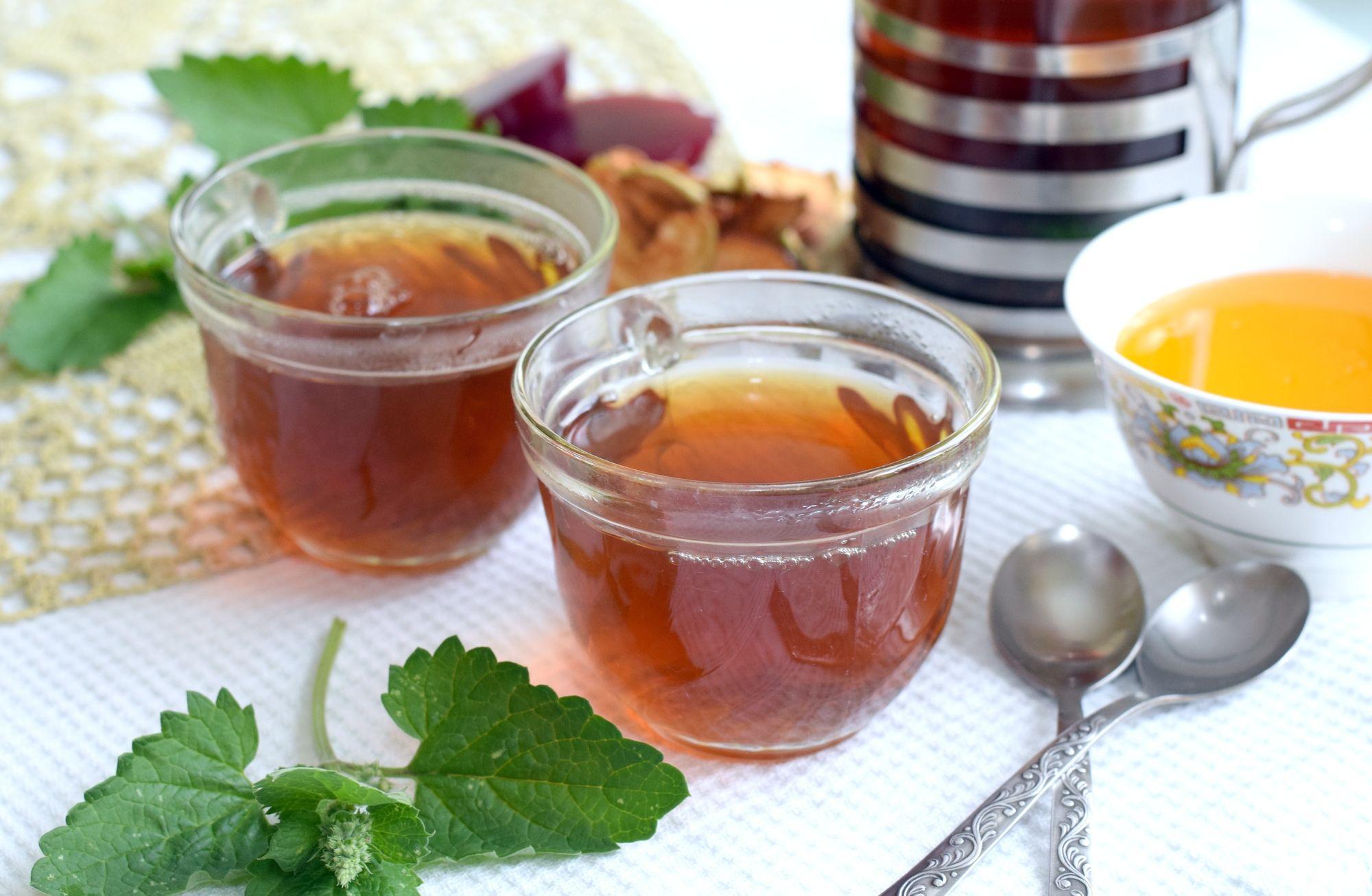 чай с мелиссой калорийность