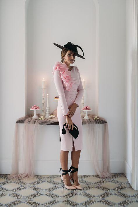 look invitada boda: algodón de azúcar en 2019 | midi dress