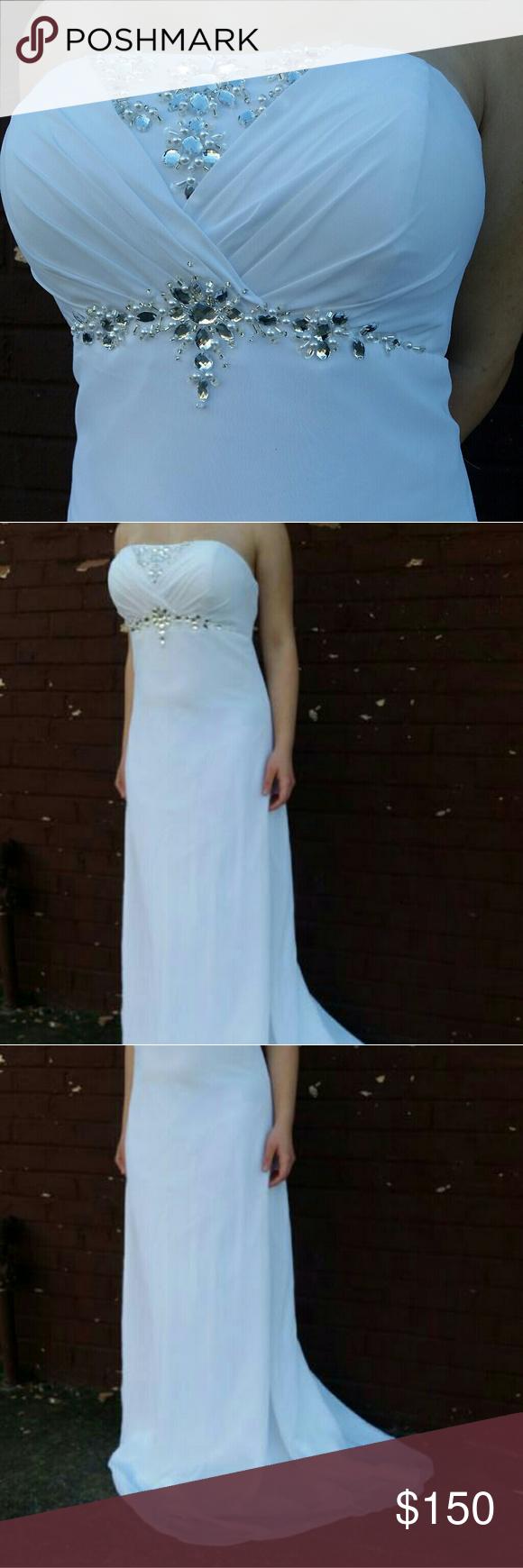 Prom/Wedding Dress/Formal Gorgeous dress. Modern Maids Collection ...