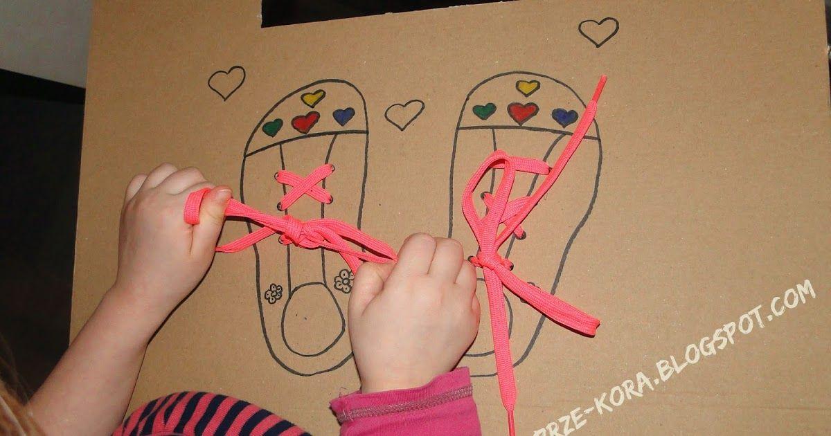 Jak Nauczyc Dziecko Wiazac Buty Nauka Wiazania Butow Kartonowe Buty Uczymy Sie Wiazac Sznurowki Jak Nauczyc Dziecko Wiazac Szn Womens Flip Flop Flop Hanger