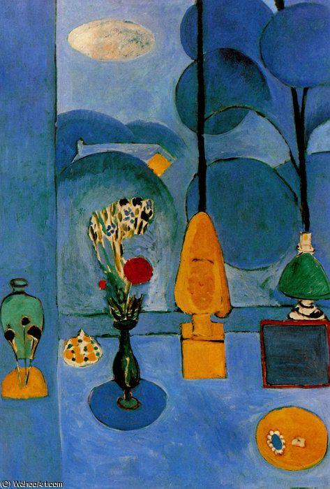 Henri Matisse - La Fenêtre bleue new york , le musée du moderne Art   Art de matisse, Henri ...
