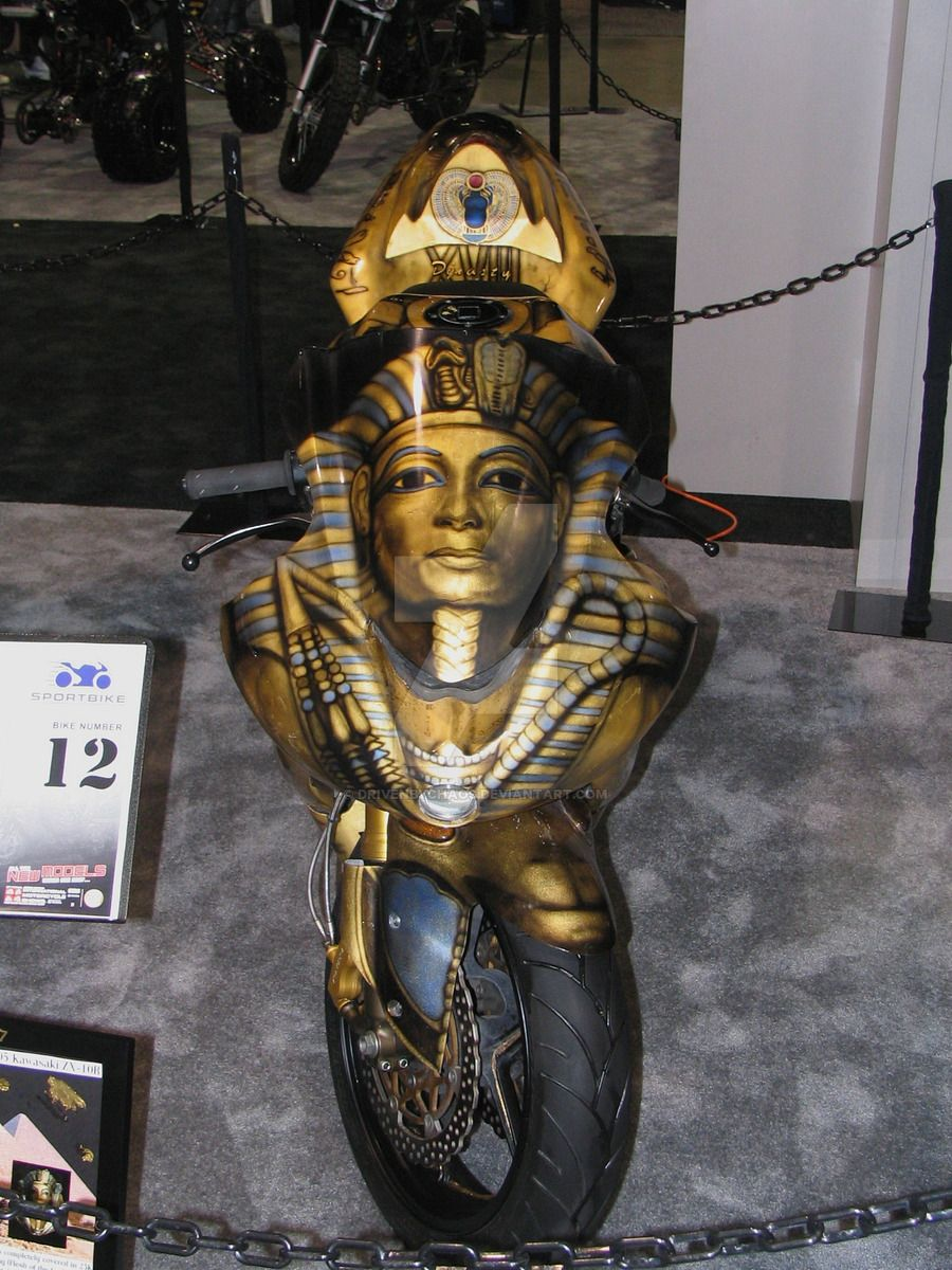 Egyptian Paint job FRONT by DrivenByChaos.deviantart.com on @DeviantArt