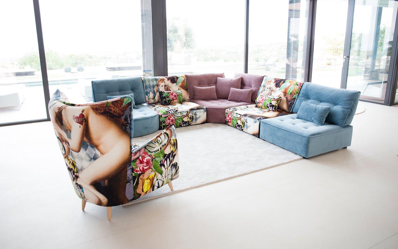 Modern Modular Sectional Sofa Arianne Love Famaliving Montreal