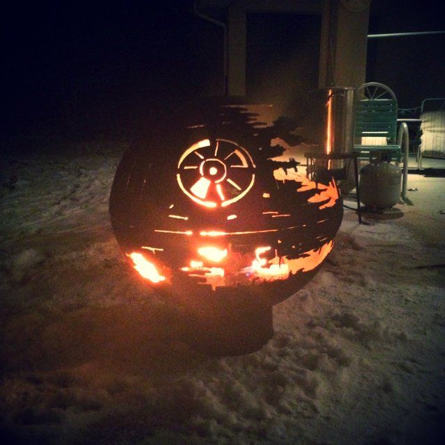 Death Star Fire PIt forge Pinterest Selbstgemachtes