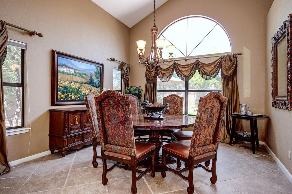 Zillow Homedetails 12636 E Tuscan Dining RoomsDrapery