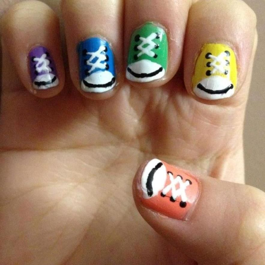 Simple Nail Art Designs For Kids Nails Art For Kids Pinterest
