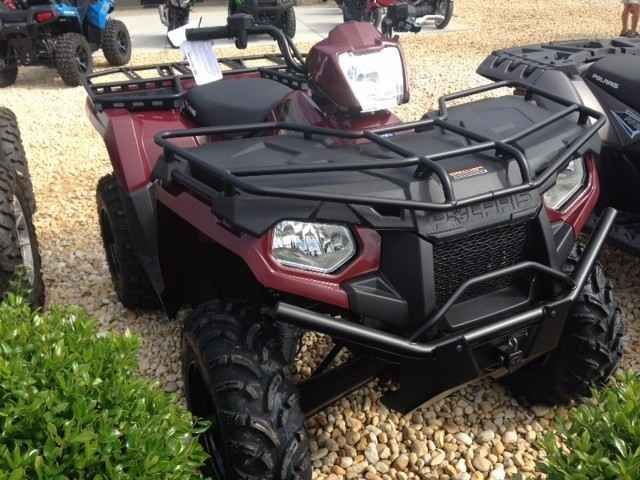 New 2017 Polaris SPORTSMAN 450 ATVs For Sale in North Carolina. JUST ARRIVED!!! 2017 Polaris Sportsman 450,Utility Edition Package. Beautiful metallic burgundy! Powerful 33 horsepower ProStar® 500 engine. Built for hauling and towing. $6299 + tax, D/C. E-Z financing available. Fill out your credit application online at or stop in today. Be the first to get one........make all your friends jealous!!!