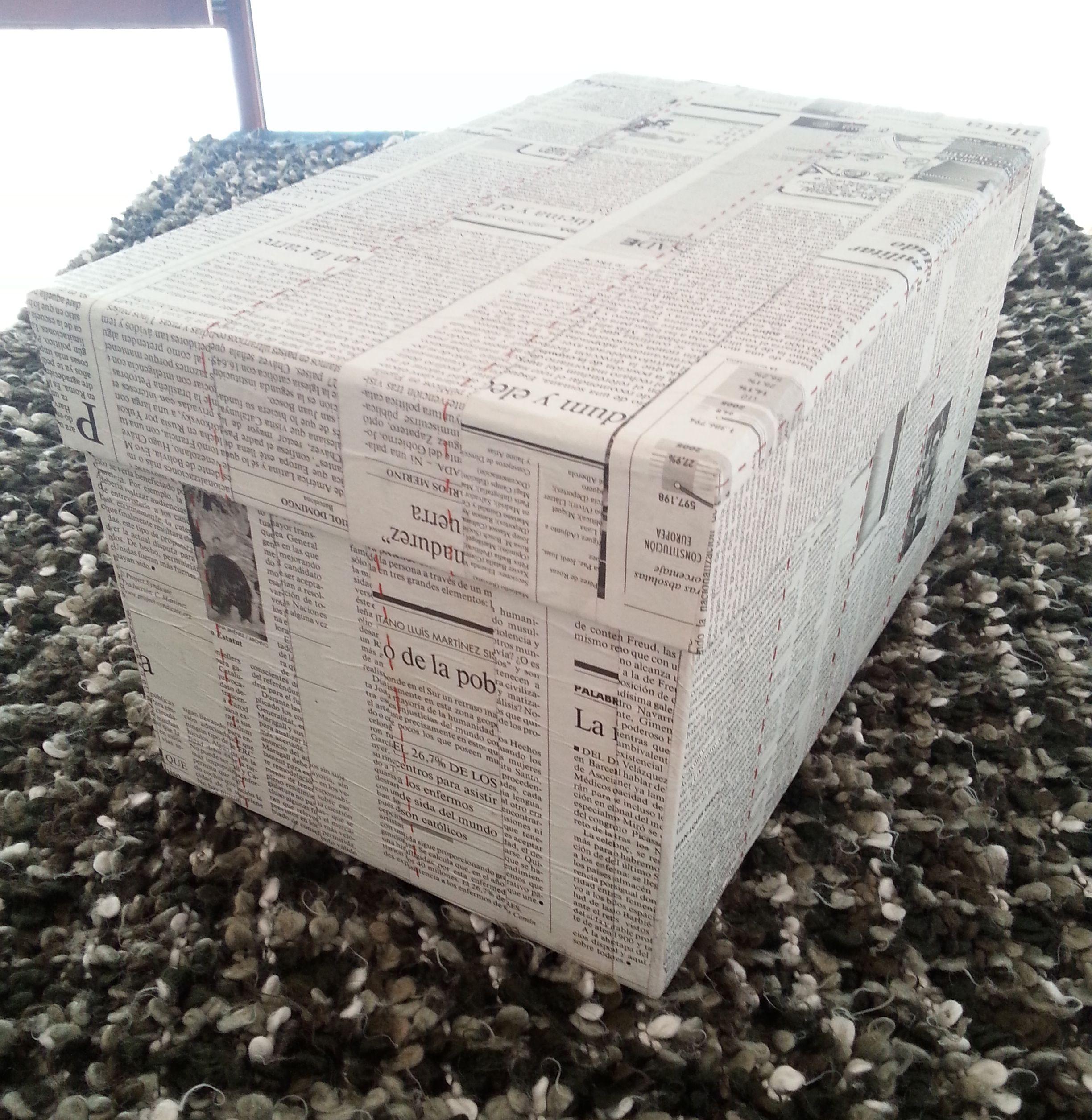 Pin De Veoveo Magazine En Tus Creaciones Cajas De Carton Forradas Cajas Forradas Caja De Cartón