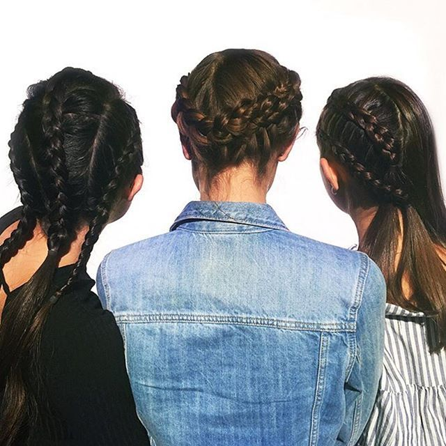 Summer ☀️ = braids 💁🏽. But will you be rocking them into the autumn? Let us know. Photo: @byrdiebeauty Braids: @glamsquad.