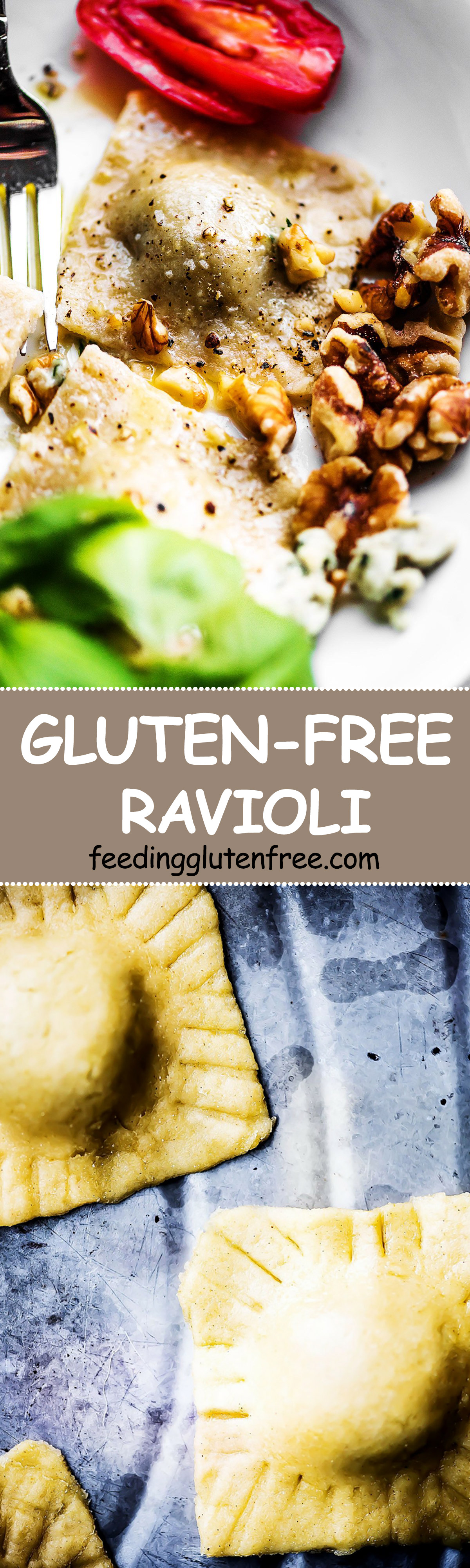 Easy GlutenFree Ravioli Gluten free ravioli, Ravioli