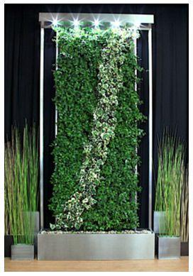 Living walls and waterfalls. | Gardens - living walls | Pinterest ...