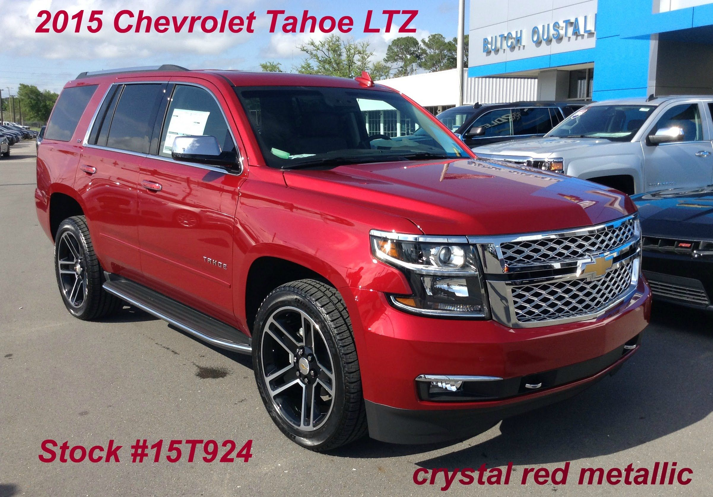 2015 Chevrolet Tahoe LTZ in crystal red metallic- Stock #15T924 | New Chevrolet Vehicles | 2015 ...