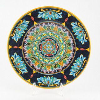 Deruta italian ceramic decoration - Geometric wall plate | plates ...
