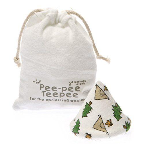 Organic Natural with Laundry Bag Beba bean Pee-pee Teepees Baby Diapering Aid
