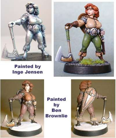 Armorcast.com. Awesome looking scenery, minis, and accessories. Not too expensive, either.