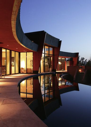 luna rossa sedona arizona sanba world architecture news
