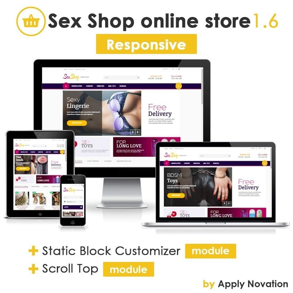 Your online sex store