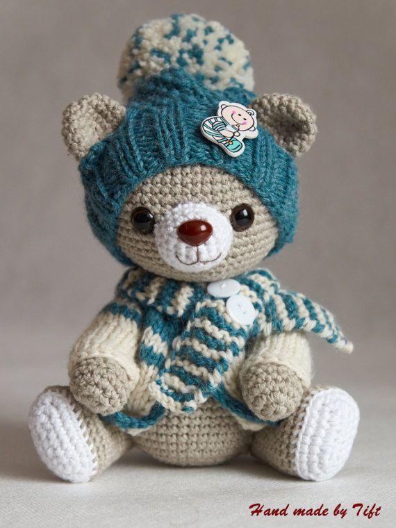 9 1/2 inches Artist Dressable Teddy Bear \